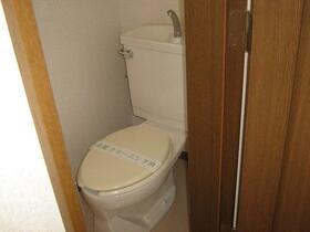 中里戸建のトイレ