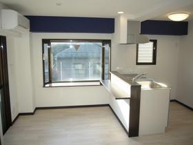 シルクハイツ 201号室のキッチン