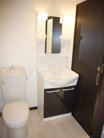 シルクハイツ 201号室の洗面所