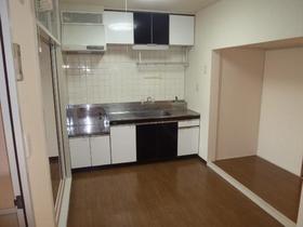 第1ニューライフ山下B棟 104号室のキッチン