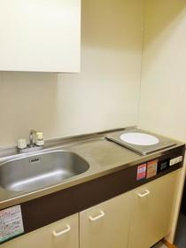 コーポあーさ・相武台 203号室のキッチン