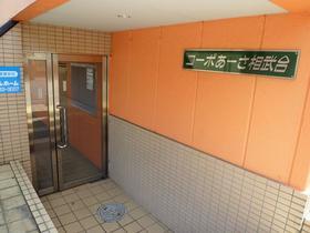 コーポあーさ・相武台 203号室のエントランス
