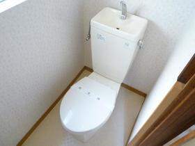 関水ハイツ 203号室のトイレ
