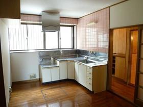 コーポラスユーB棟 102号室のキッチン