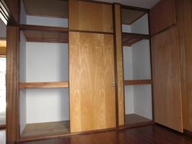 コーポラスユーB棟 102号室の収納