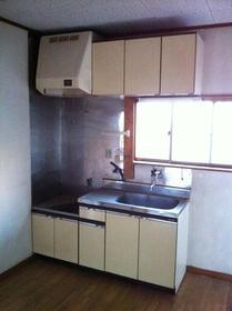 ハイツ光 202号室のキッチン