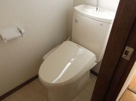 フラワーハイツ 101号室のトイレ