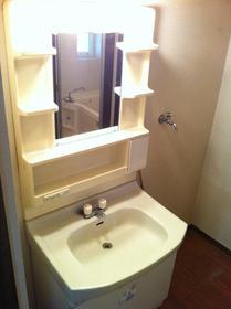 ボナール青葉 202号室の洗面所