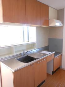 シャーメゾンB棟 201号室のキッチン