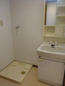 嶋宮ハイツ 102号室の洗面所