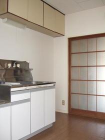 はづきコーポ A-2号室のキッチン