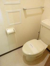 エクステリア宮島 403号室のトイレ