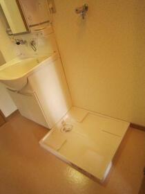 ポプラヶ丘コープ8号棟 405号室の洗面所