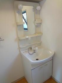 シャーメゾンC棟 101号室の洗面所