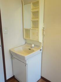 横田ハイツ 305号室の洗面所