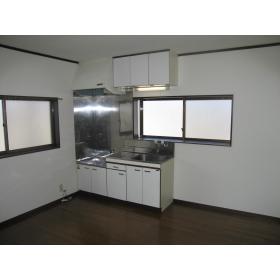 コーポ安藤 203号室のキッチン