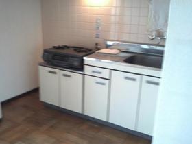 シルバープラザビル 505号室のキッチン