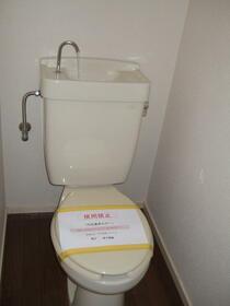 ヨシノM A-1号室のトイレ