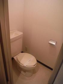 ベルアベニュー南林間 202号室のトイレ