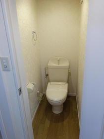 ベルツリー中央林間 105号室のトイレ