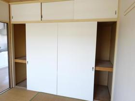 長村コート 202号室の収納