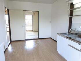 長村コート 202号室のキッチン