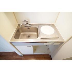 ジョイフル南林間 303号室のキッチン