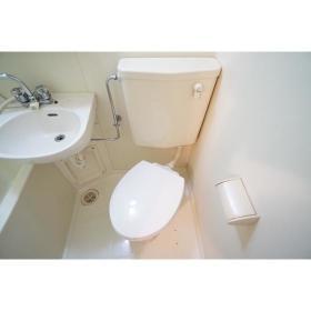 ジョイフル南林間 303号室のトイレ