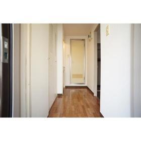 ジョイフル南林間 303号室の玄関