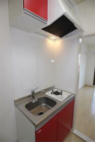 フラットシティ 4-B号室のキッチン