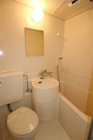フラットシティ 4-B号室の風呂
