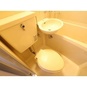 ベルピア大和第2 103号室のトイレ