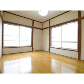 鈴木ハイツ 201号室のリビング