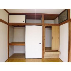 鈴木ハイツ 201号室の収納