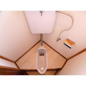 鈴木ハイツ 201号室のトイレ