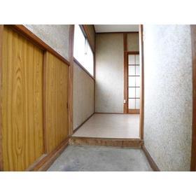 鈴木ハイツ 201号室の玄関