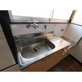 栗原荘 103号室のキッチン
