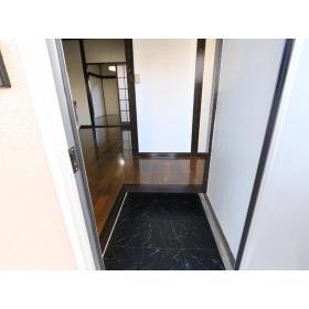 栗原荘 103号室の玄関