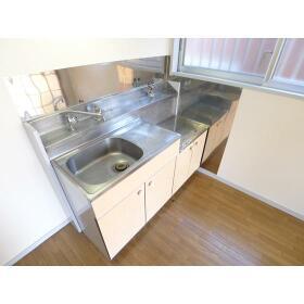 上和田コーポ 201号室のキッチン