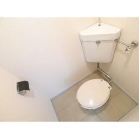上和田コーポ 201号室のトイレ
