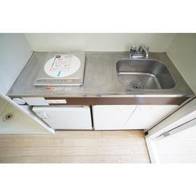 セザール第2鶴間 104号室のキッチン