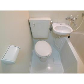 セザール第2鶴間 104号室のトイレ