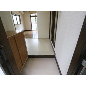 ハイツ多慶 101号室の玄関