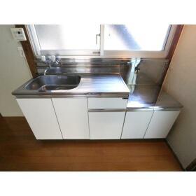 小菅荘 101号室のキッチン