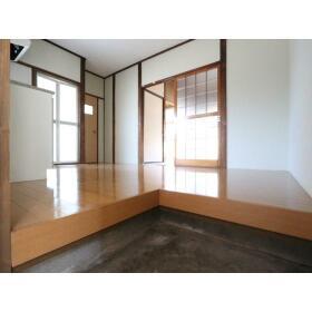 小菅荘 101号室の玄関