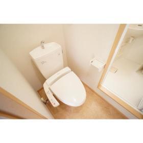 シティパレス鶴間 302号室のトイレ