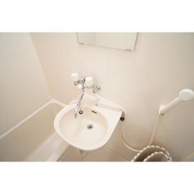 シティパレス鶴間 302号室の洗面所