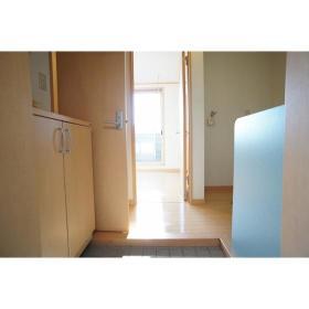 シティパレス鶴間 302号室の玄関