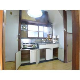 下田アパート 1号室のキッチン