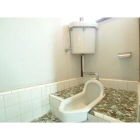 下田アパート 1号室のトイレ